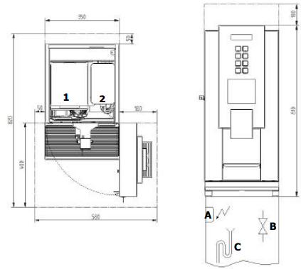 Bean to cup coffee machines geneva22 diagram
